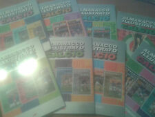 almanacchi panini  calciatori dal 1971 al  2004 gazzetta dello sport