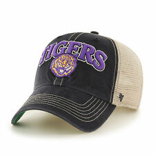 LSU Tigers 47 Brand Snapback Cap Hat Clean Up Mesh Tuscaloosa Louisiana State