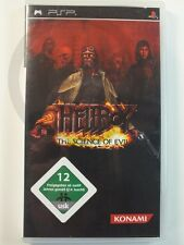 SONY PSP GAME Hellboy Science of Evil, used but GOOD