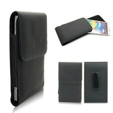 Clip On Belt Pouch Leather Case Shell For Samsung Galaxy Note3 III N9000 N9005