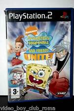 SPONGEBOB SQUAREPANTS AND FRIEND UNITE! GIOCO USATO BUONO PS2 ED INGLESE 32069