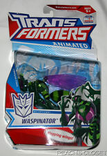 NIP TRANSFORMERS ANIMATED DECEPTICON WASPINATOR DELUXE CLASS FIGURE
