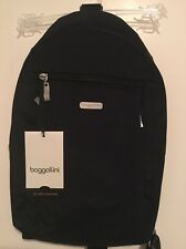 Baggallini - Glide Travel Sling Bag - Black - Backpack Bookbag Carry On - NEW