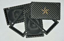 Carnage Top Quality Carbon Fiber 8 card Wallet RFID Blocking Cardholder