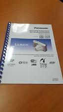 PANASONIC DMC-TZ70 FULL USER MANUAL GUIDE INSTRUCTIONS PRINTED 305 PAGES A5