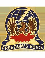 USAR Air Traffic Service Unit Crest (Freedom's Voice)