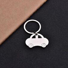 En forma de llavero llavero creativo regalo de plata del coche del color