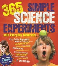 365 Simple Science Experiments With Everyday Materials, Mandell, Muriel, Loeschn