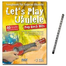 Let's Play Ukulele - Pop Rock Hits mit 2CDs - EH3957 - 9783866263642