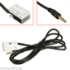 CABLE DE AUDIO AUXILIAR Entrada 3.5mm IPHONE IPOD MP3 para coche CITROEN PEUGEOT