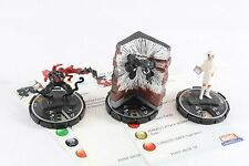 Heroclix Web Of Spider-man 3 LE Set Venom Toxin Night Nurse