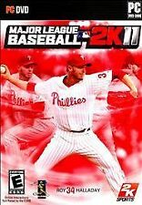 BRAND NEW SEALED PC MLB GAME -- Major League Baseball 2K11 (PC DVD-ROM, 2011)