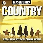 Massive Hits!: Country, Acceptable, , Box set
