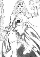 Scarlet Witch by Daniela Lima - Ed Benes Studio