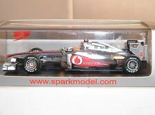 Spark S3022 Mercedes F1 MP4-26 No3 Formula 1 Car Chinese GP 2011 L Hamilton 1:43