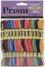 Prism Six-Strand Floss Pack 36/Package VARIEGATED PRISMVAR