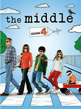 The Middle ~ Complete Fourth Season 4 Four ~ BRAND NEW 3-DISC DVD SET GENUINE!