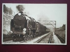 POSTCARD SOUTHERN RAILWAY LOCO NO 860 'LORD HAWKE' ON THE OCEAN LINER EXPRESS