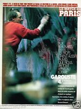 Coupure de Presse Clipping 1991 (3 pages) Garouste