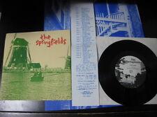 """Springfields Sunflower UK 7 inch Vinyl Single C86 Sarah Velvet Crush Menck 7"""""""