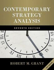 Contemporary Strategy Analysis by Robert M. Grant (2010, Paperback)