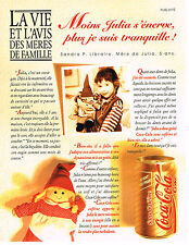 PUBLICITE ADVERTISING 084  1994  COCA-COLA  SANS CAFEINE soda