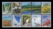 Japan 3531a-j Scenery of the Trip 17 [10 USED Stamps]