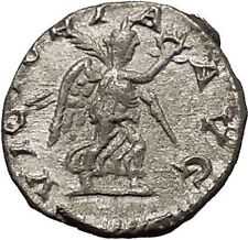SEVERUS ALEXANDER 222AD Ancient Silver Roman Coin Victory Nike i53127