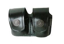 Speedloader Case – Schnelllader-Tasche (Double) Leder - Schwarz