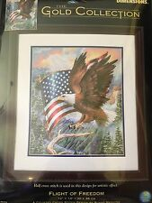Cross Stitch Kit Dimensions The Gold Collection Flight Of Freedom Eagle New