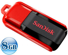 SANDISK CRUZER SWITCH CZ52 8GB 8G USB Flash Pen Key Thumb  Drive Memory Stick
