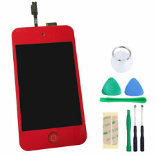 New Red LCD Screen Digitizer Glass Assembly For iPod Touch 4 4th Gen 4G + Tool