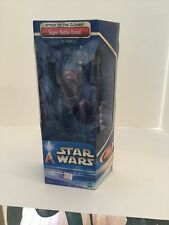 "Star Wars Attack of the Clones Super Battle Droid 12"" NIP"