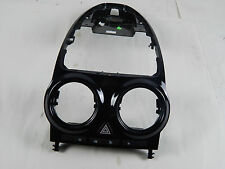 VAUXHALL CORSA D MK3 CENTRE DASHBOARD AIR VENT HOUSING SURROUND TRIM BLACK
