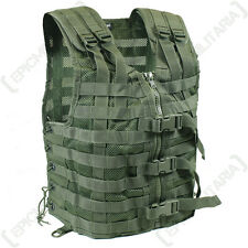 Vert olive molle Tactique Combat Assault transporteur gilet armée fixation rig top