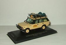 Land Rover Range Rover 4x4 4WD 1987 Winner Rally Camel Trophy 1:43