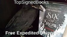 SIGNED Six of Crows by Leigh Bardugo first print, hardcover autographed new