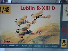 LUBLIN R-XIII D WWII POLISH FIGHTER AIRCRAFT1/48 SCALE MIRAGE MODEL LIMITED EDIT