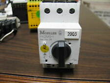 MOELLER Manual Motor Starter PKZMO-1 WITH OVERLOAD PROTECTION UP TO 1/2 HP MOTOR