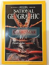 ☀️ National Geographic March 1998 Beetles NAPLES Earth Life Arctic Nomads MINT