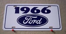 1966 Ford license Plate tag 66 Falcon Fairlane Mustang  gt Thunderbird Ranchero
