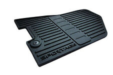 OEM 2017 Kia Sportage ALL WEATHER RUBBER FLOOR MATS Complete Mat Set Slush