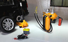 G LGB 1:24 Scale Workshop Compressor Oxyacetylene Torch & Tools Diorama Set