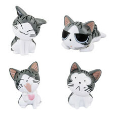 4 pcs Set Chi's Sweet Home Cat 5-7.5cm Figure