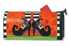 Magnet Works If the Shoe Fits Halloween Original Magnetic Mailbox Wrap Cover