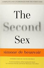 The Second Sex by Simone de Beauvoir, (Paperback), Vintage , New, Free Shipping