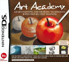 Nintendo DS Game Art Academy Characters und Painting techniques NIP NDS