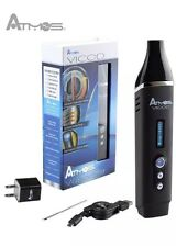 ATMOS VICOD  BEST PORTABLE DRY HERB  Black NEW Herbal Vaporiser Nextday*
