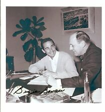 1960's dodgers buzzie bavasi auotgraph sandy koufax photo general manager