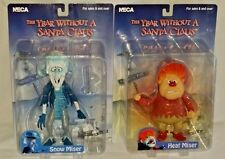 """NECA Year Without Santa Claus 2006 HEAT & SNOW MISER 7"""" Action Figure SET of 2"""